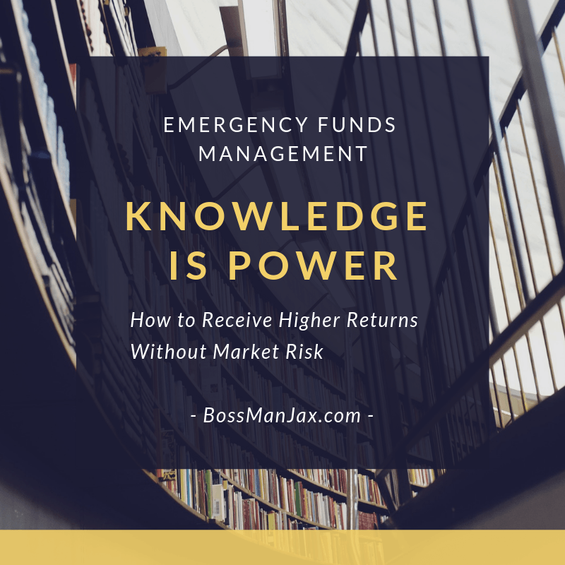 Emergency Funds Management Higher Returns Knowledge is Power